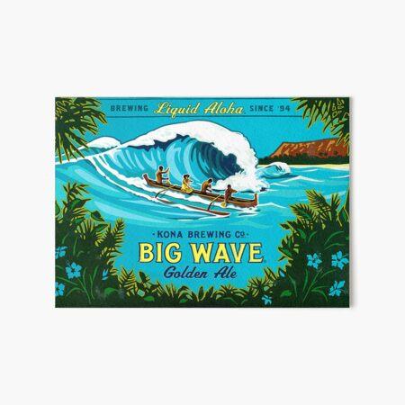 Kona Big Wave Art Board Print