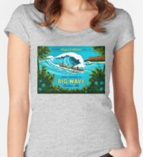 Kona Big Wave Fitted Scoop T-Shirt