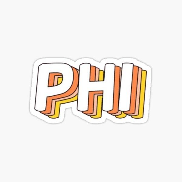 PHI !! Sticker