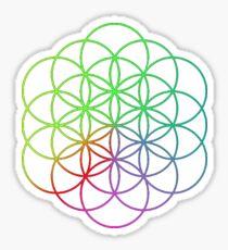 Coldplay//logo Sticker