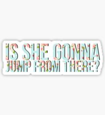 Jumping to conclusions.  Sticker