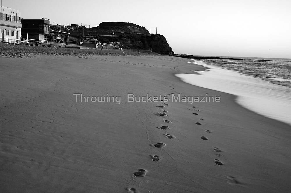 footprints by Throwing  Buckets Magazine