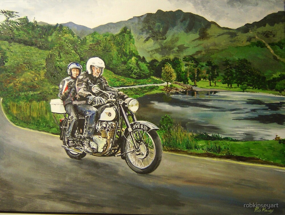 Classic Lakes riding by robkinseyart