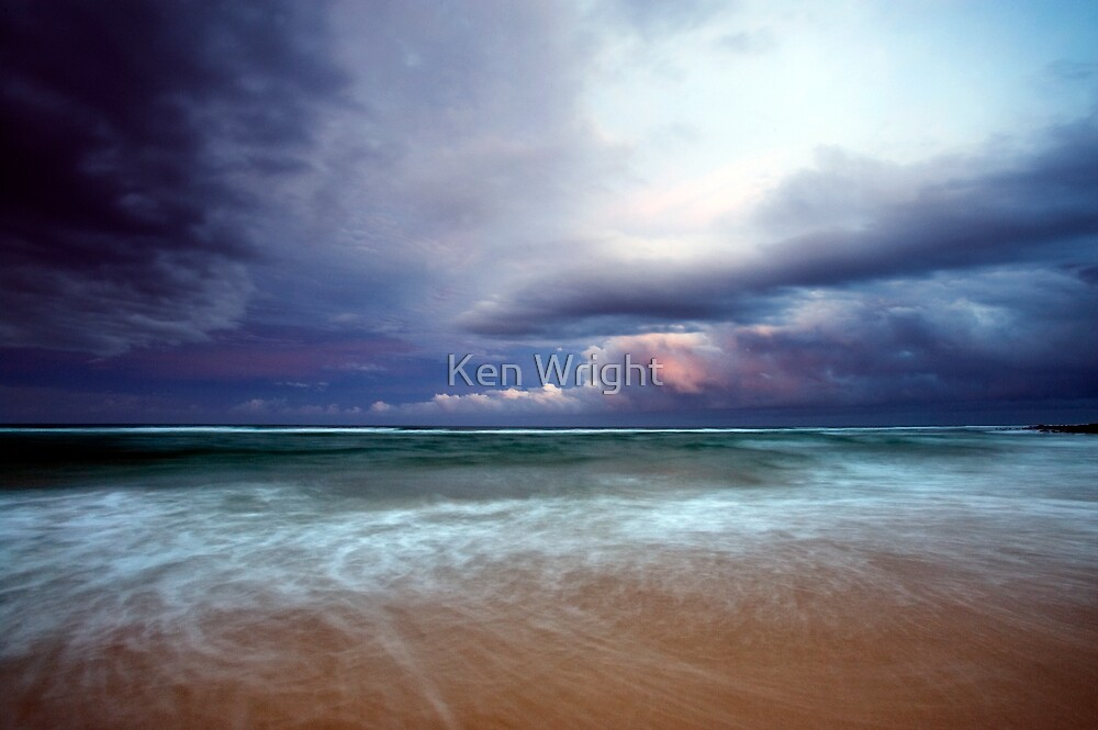 Distant thunder by Ken Wright