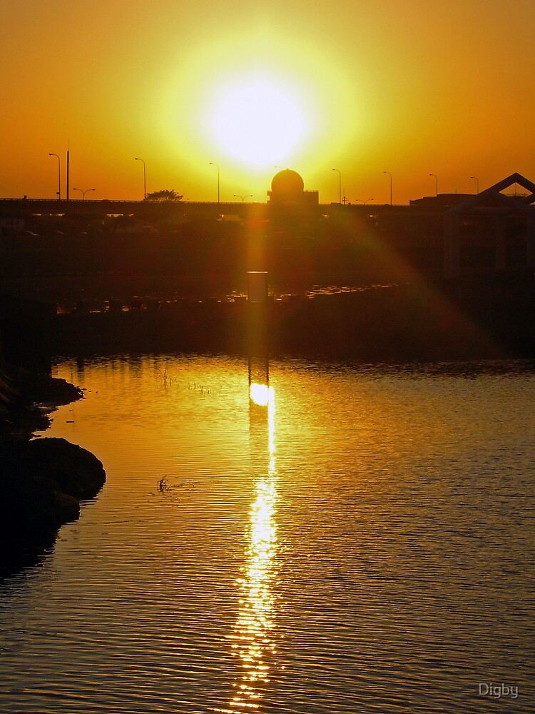 Taipe Sunset by Digby