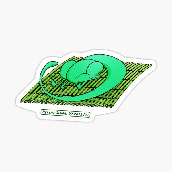 Reptile Senpai S03E04 Sticker