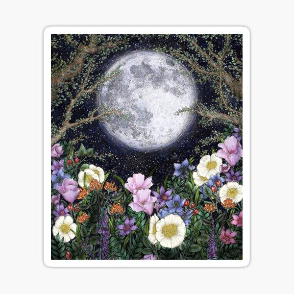 Midnight in the Garden II Sticker