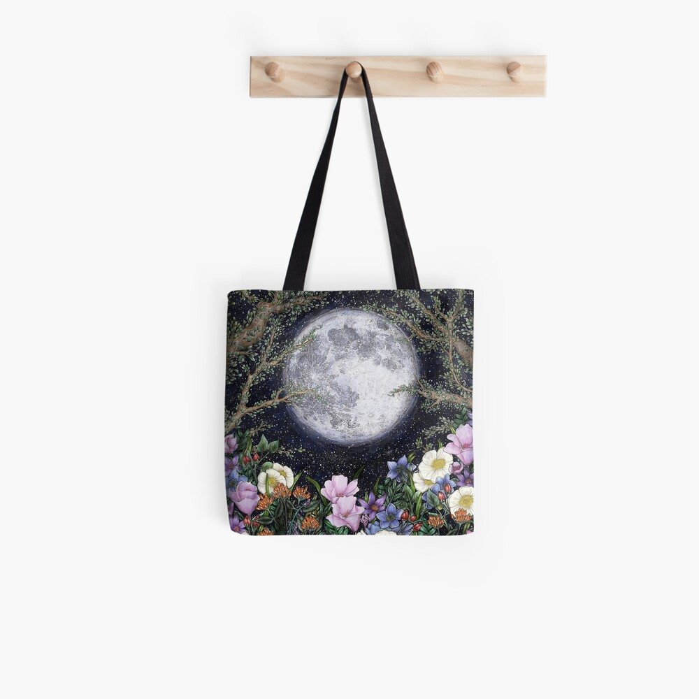 Midnight in the Garden II Tote Bag