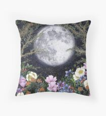 Midnight in the Garden II Floor Pillow