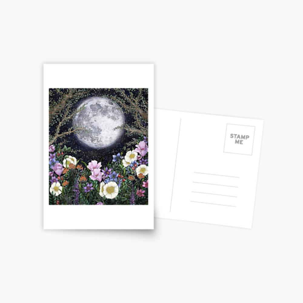 Midnight in the Garden II Postcard
