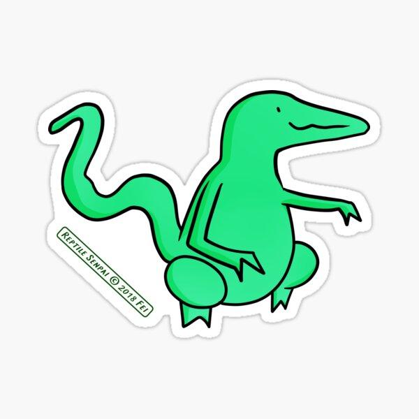 Reptile Senpai S03E05 Sticker