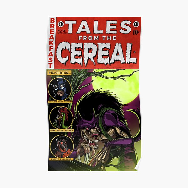 Fruit Brute - Tales from the Cereal Poster