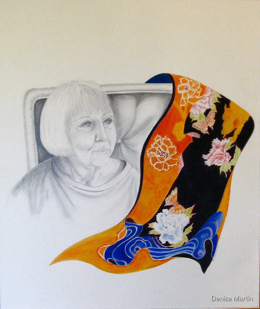 Reflecting On A Colourful Life by Denise Martin