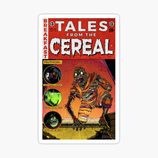 Yummy Mummy - Tales from the Cereal Sticker