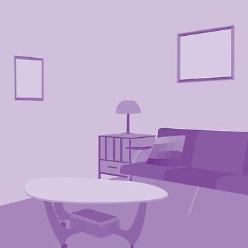 ordinary things, living room by dai-dai