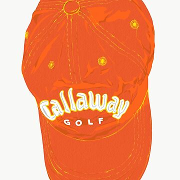 callaway golf cap drawing by suckout