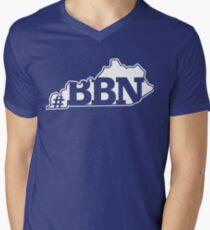 Kentucky BBN hashtag state logo Men's V-Neck T-Shirt
