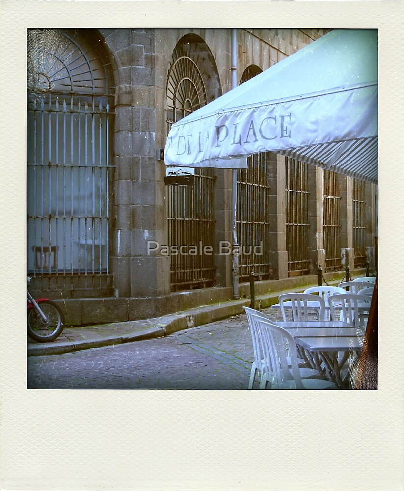 Faux-polaroids - around the place by Pascale Baud