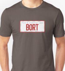 Bort License Plate Unisex T-Shirt
