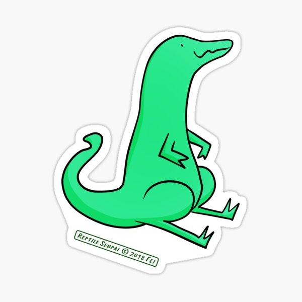 Reptile Senpai S03E06 Sticker