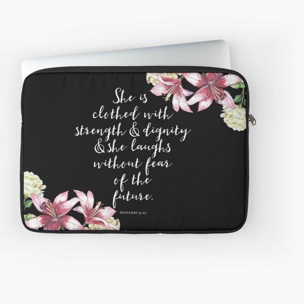 Christian Proverbs  Laptop Sleeve