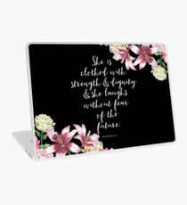 Strong Women Quotes Laptop Skins Redbubble
