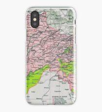 Map of Punjab, circa 1909 iPhone Case