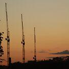Urban sunset 1 by powerball225