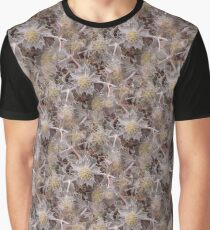 Sea Holly Pattern Graphic T-Shirt