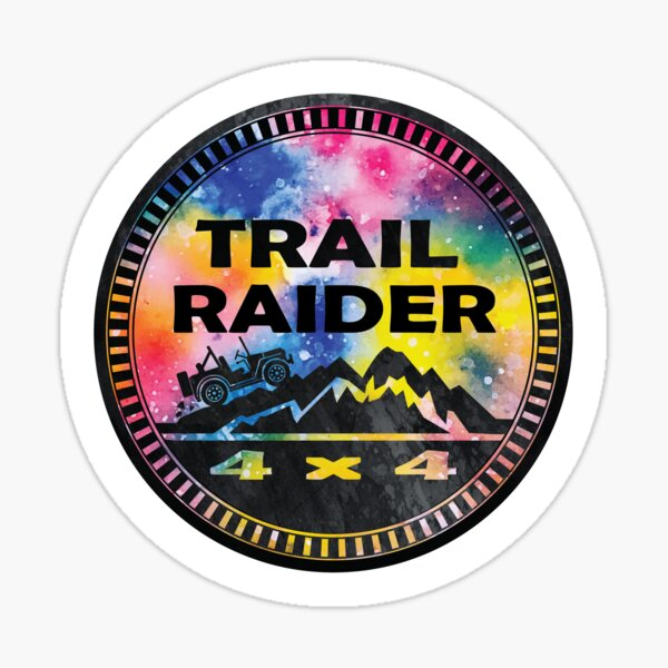 Trail Raider Sticker