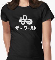 Za Warudo Alt Women's Fitted T-Shirt