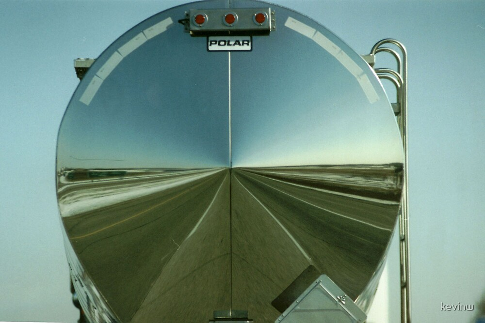 Freeway Reflection by kevinw