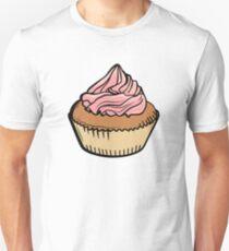 Chocolate Cream Cupcake Unisex T-Shirt