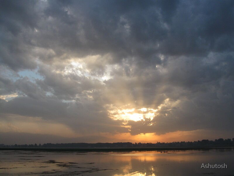 Sunset by Ashutosh