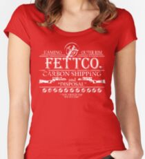 FettCo. Women's Fitted Scoop T-Shirt