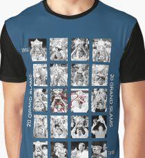 RF 20 Grand Slams Graphic T-Shirt