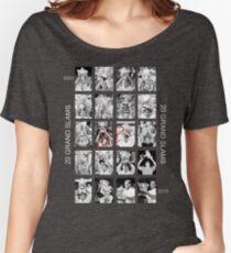 RF 20 Grand Slams Women's Relaxed Fit T-Shirt