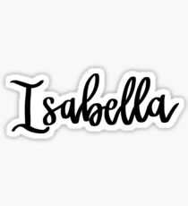 Isabella Sticker