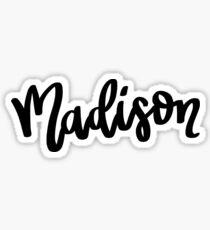 Madison Sticker