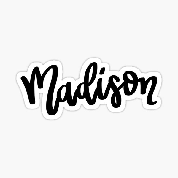 Madison Sticker
