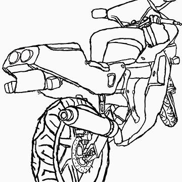 Motorbike Rear 1 by franciswhite