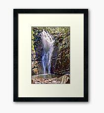 Mathinna Falls - Tasmania - Australia Framed Print