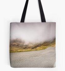 The long road home - Pyranees Tote Bag