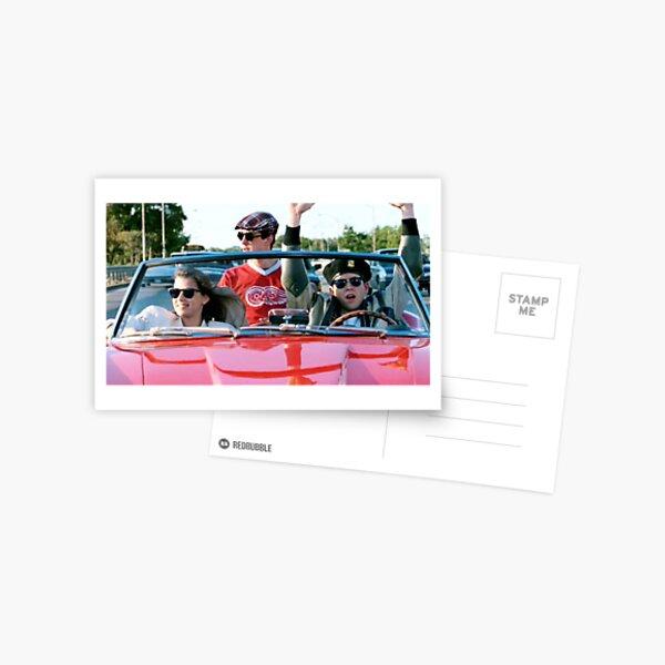 Ferris Bueller Postcard