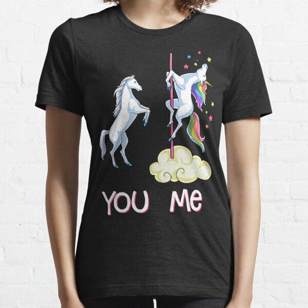 Unicorn You vs Me Shirt Funny Unicorns Rainbow T-shirt Gifts Essential T-Shirt
