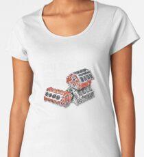 Still Plays With Blocks Women's Premium T-Shirt