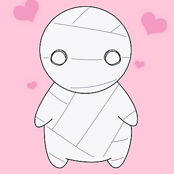 Mummy-kun by JJCrane
