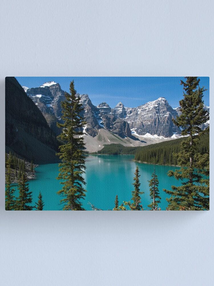 Banff National Park Moraine Lake Canvas Print