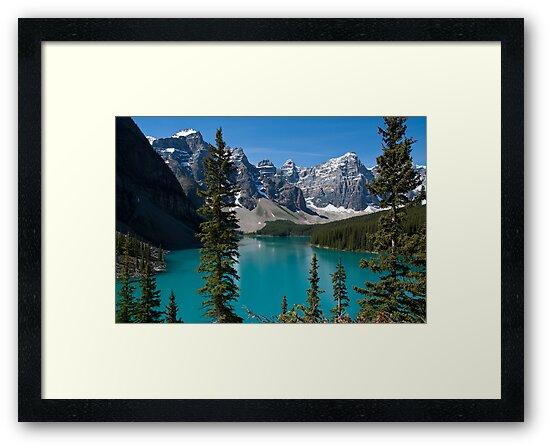 Banff National Park, Moraine Lake by Brendan Schoon