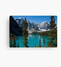 Banff National Park, Moraine Lake Canvas Print